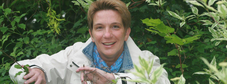 Autorin Ilona Mayer-Zach hat zuweilen den Durchblick